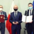Od lewej: Krzysztof Kurek, Michał Kurtyka i Przemysław Czarnek