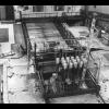 Widok na reaktor z góry podczas budowy