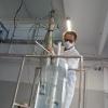 Sonda wysokotemperaturowa przygotowywana na stanowisku testowym w NCBJ