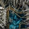 Reaktor MARIA - rdzeń i kanały poziome (foto: NCBJ)